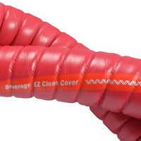 """1""""  Extremeflex Beverage Red w/ EZ Clean Bulk Hose"""