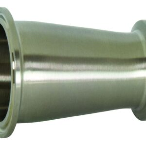 1 in x 1/2 in Clamp Concentric Reducer, 316L SS